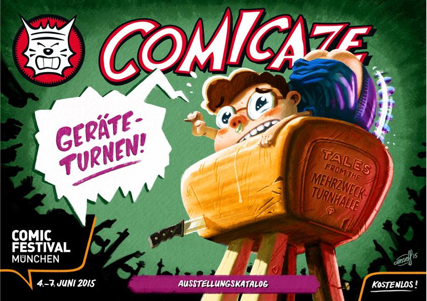 Comicaze-Heft Geräteturnen