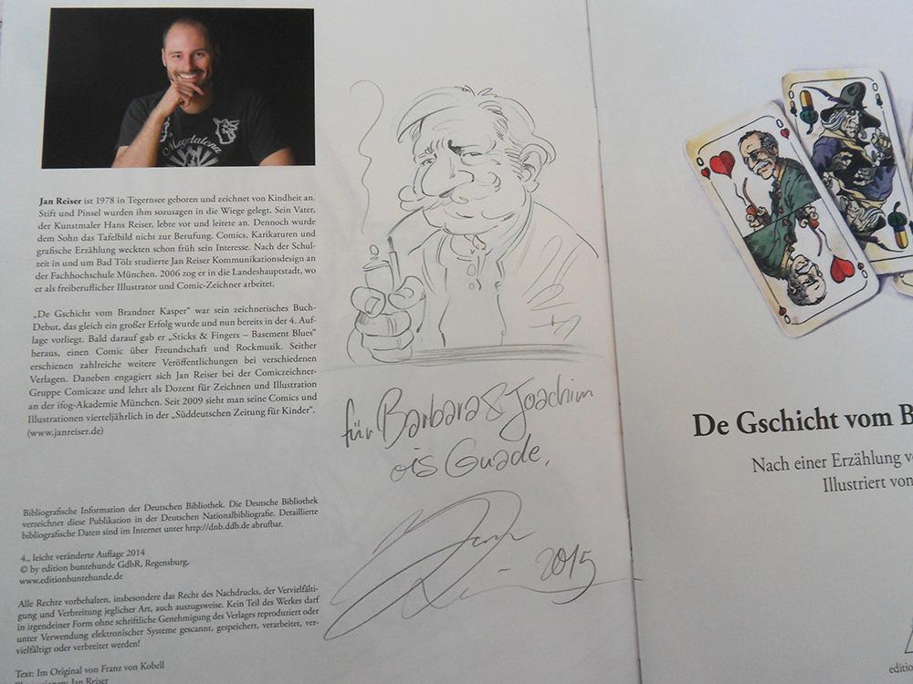 Autogramm Jan Reiser