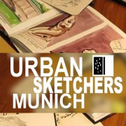Urban Sketchers Munich Vignette 400