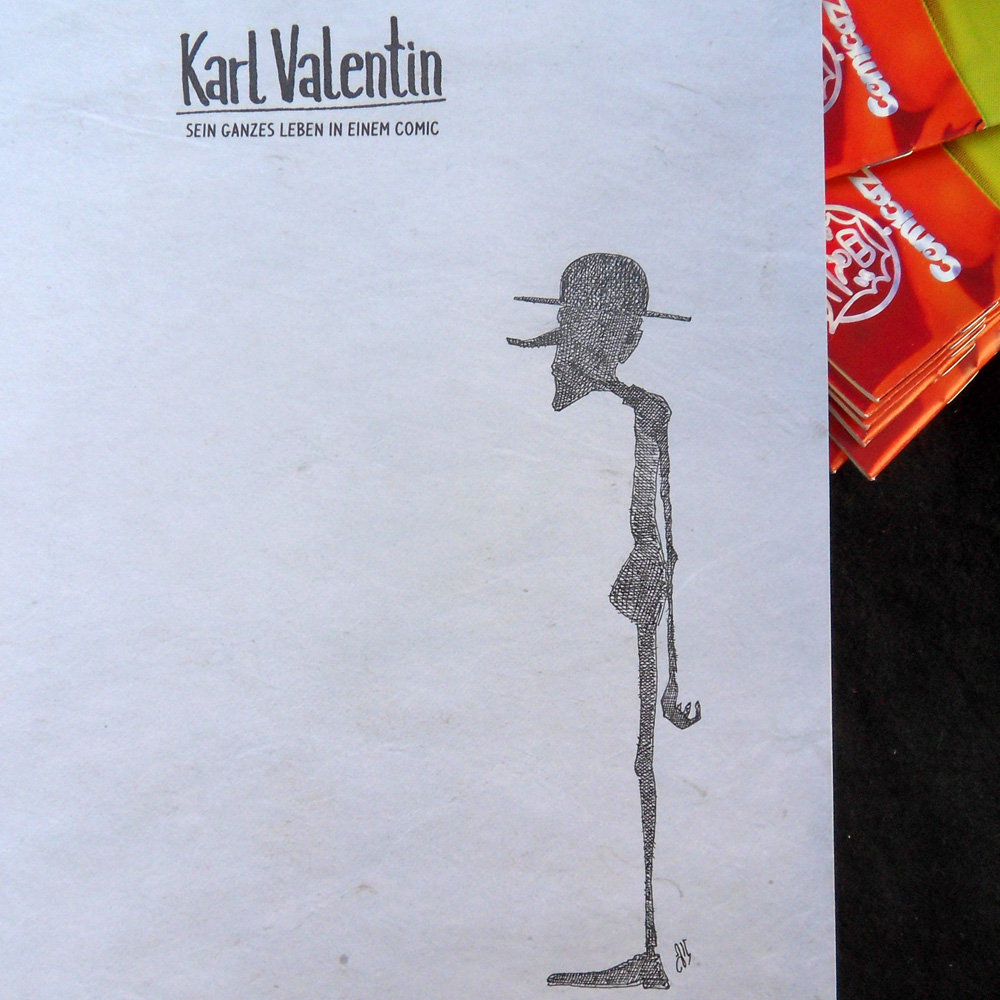 Signatur Karl-Valentin-Album