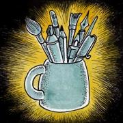 Vignette Stammtisch Armin Bierkrug2 400px