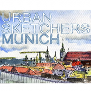 Vignette Urban Sketchers Munich 400px