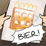 Vignette - Teaser Bier-Comic Yvonne Tauss
