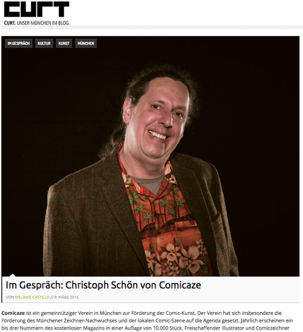 curt München Interview Christoph Schöne
