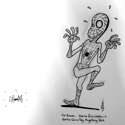 GCT 2016 Augsburg Fan-Art Spiderman Java 500px
