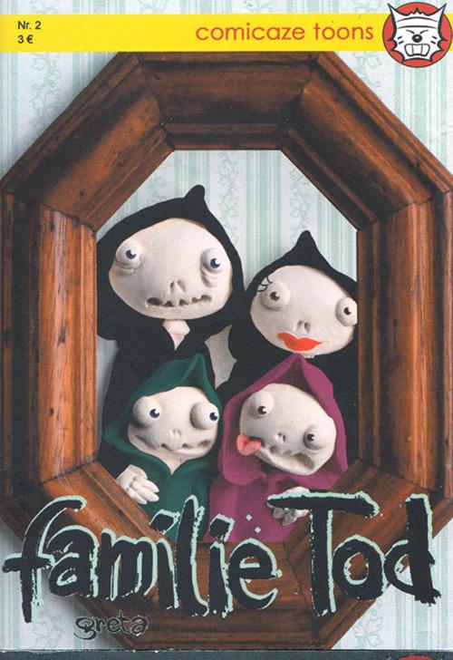 Comicaze Toons Heft Nr 2 Familie Tod 500px