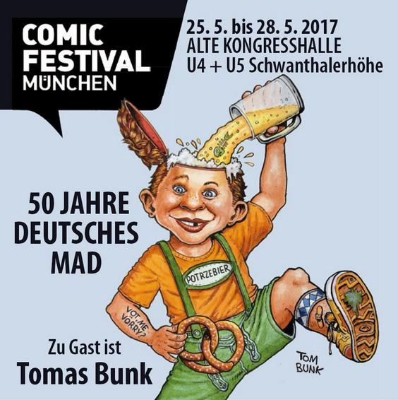 50 Jahre deutsches MAD Bunk