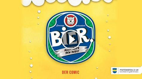 Banner - Bier-Video