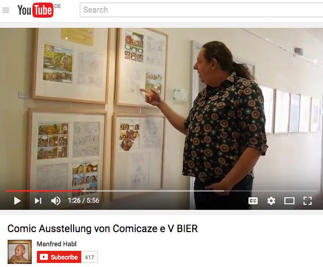 Bier-Ausstellung - YouTube Christoph - 2017