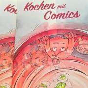 Vignette Kochen mit Comics 2017